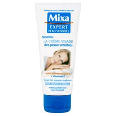 MIXA Crème visage amande douce et vitamine E pour toute la famille 100ml