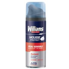 Williams mousse à raser peaux sensibles 200ml