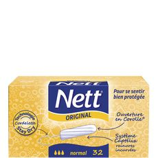 NETT Nett Tampons digitaux normal x32