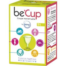 BE'CUP Coupe menstruelle taille 1 1 cup
