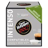 Caffè Vergnano 1882 intenso capsule x16 -120g