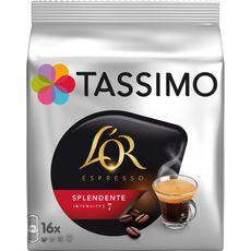 Tassimo Dosettes de café L'Or espresso splendente X16-104g