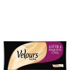 VELOURS NOIR Velours Noir café moulu doux 4x250g 4x250g
