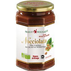 Nocciolata Pâte à tartiner bio au cacao et noisettes 700g