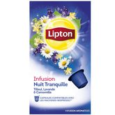 Lipton infusion nuit tranquille capsules x10 -30g