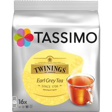 Tassimo twinings thé earl grey tdisc x16 -40g