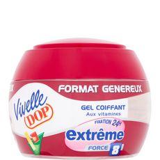 Vivelle Dop Gel coiffant fixation extrême 24h force 8 200ml