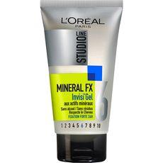 L'Oréal Studio Line gel invisible actifs minéraux fixation force 6 150ml