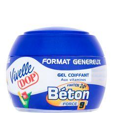 Vivelle Dop Gel coiffant fixation béton 24h force 9 200ml