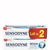 Sensodyne dentifrice repare et protège 2x75ml
