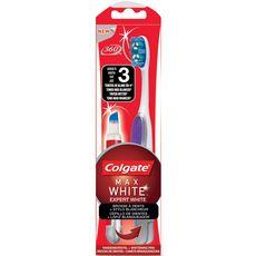 Colgate Max White brosse à dents + stylo blancheur