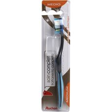 Auchan Brosse à dents soin complet medium x1