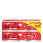 Colgate dentifrice maxwhite 2x75ml