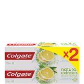 Colgate dentifrice naturals fresh 2x75ml