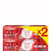 Colgate expert dentifrice max white cool mint 2x75ml