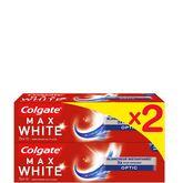 Colgate dentifrice maxwhite optic 2x75ml