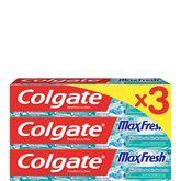 Colgate dentifrice maxfresh bille 3x75ml