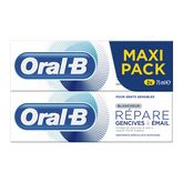 Oral B repare gencives et email blancheur 2x75ml