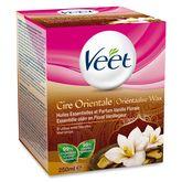Veet cire aux huiles essentielles vanille rinçable eau 250ml