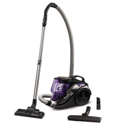 MOULINEX Aspirateur sans sac MO3759PA Noir et violet