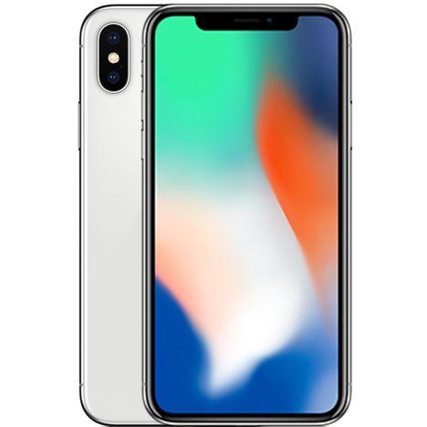 Iphone X - 64 Go - 5,8 pouces - Argent APPLE pas cher à prix Auchan 0a238ad7e566