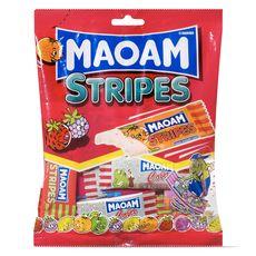 MAOMAM Maoam Stripes bonbons fruités en sachets individuels 250g 250g