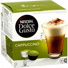 NESCAFE Nescafé Dolce Gusto cappuccino café x8 + lait x8  -200g