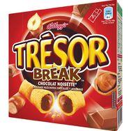 Kellogg's barre trésor break chocolat noisette 5x26g