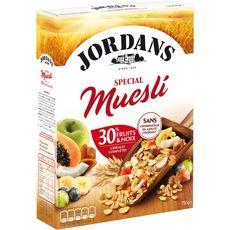 JORDAN'S Special Muesli de céréales complètes fruits et noix 750g