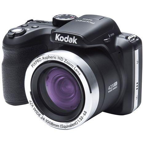 KODAK Appareil Photo Bridge - PIXPRO AZ422 - Noir - Objectif 4.3-180.6 mm