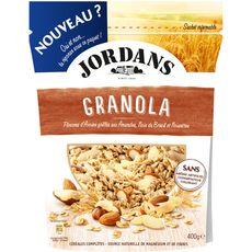Jordans granola amandes noix du Brésil et noisettes 400g