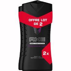 AXE Gel douche Provocation noix de coco poivre noir 2x250ml