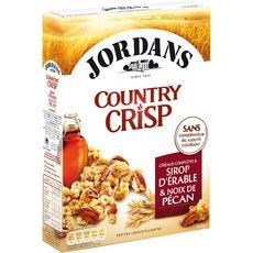 JORDAN'S Jordans country crisp sirop d'érable et noix de pécan 550g
