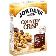 Jordans country crisp chocolat 550g