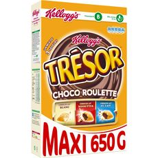 Kellogg's trésor choco roulette 650g