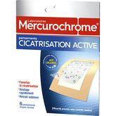 Mercurochrome pansement cicatrisation active x6