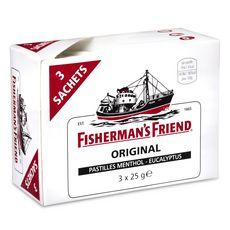 Fisherman's  Friend eucalyptus menthol 3x25g
