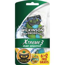Wilkinson rasoirs jetables extrême III pure sensitive x6