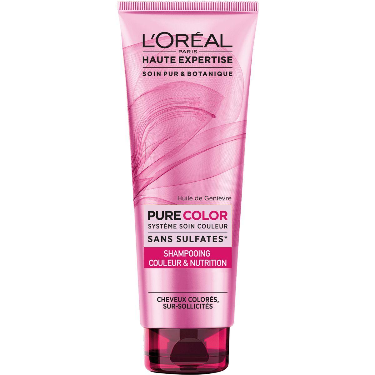 L'Oréal shampooing couleur et nutrition 250ml