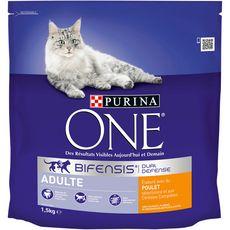 PURINA One bifensis croquettes au poulet céréales pour chat 1,5kg