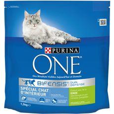 PURINA One biefensis croquettes à la dinde pour chat d'intérieur 1,5kg