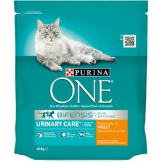 PURINA One bifensis urinary care croquettes au poulet blé pour chat 450g