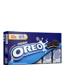Oreo Biscuit original au chocolat, sachets fraîcheur 10x2 biscuits 220g