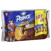 LU Prince chocolat 3x300g +lait 300g