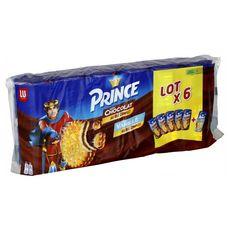Prince chocolat 5x300g +1vanille 300g