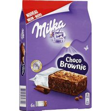 Milka brownie chocolat individuel 180g