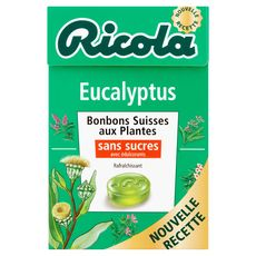 Ricola eucalyptus bonbons sans sucre 50g