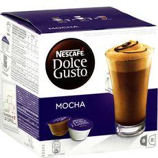 NESCAFE Nescafé dolce gusto café mocha dosettes x8 +lait x8 -216g