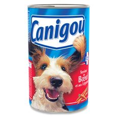 CANIGOU Canigou boeuf en terrine pour chien boite 1.2kg