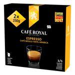 Café moulu Café Royal Espresso - 2x250g